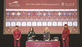 The draw for His Highness The Amir Sword (Group 1 PA) and His Highness The Amir Trophy (QA Group 1)